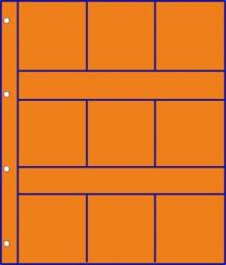 Hartberger GMO 9 R oranje bladen 10x