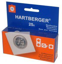 Hartberger Munthouders zelfklevend 43   25x 8320043
