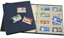 Hartberger coincard preprinted album